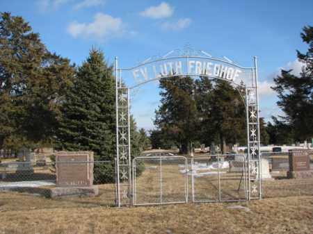 *IMMANUEL LUTHERAN, GATE - Douglas County, South Dakota | GATE *IMMANUEL LUTHERAN - South Dakota Gravestone Photos