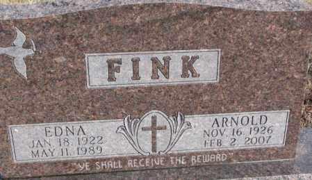 FINK, EDNA - Douglas County, South Dakota | EDNA FINK - South Dakota Gravestone Photos
