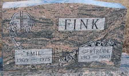 FINK, GERTRUDE - Douglas County, South Dakota | GERTRUDE FINK - South Dakota Gravestone Photos