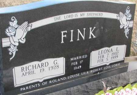 FINK, LEONA L. - Douglas County, South Dakota | LEONA L. FINK - South Dakota Gravestone Photos