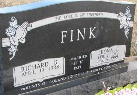 FINK, LEONA L. - Douglas County, South Dakota | LEONA L. FINK - South Dakota Gravestone Photos