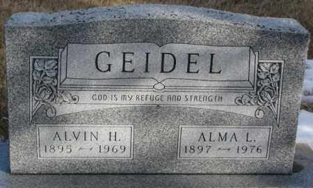 GEIDEL, ALMA L. - Douglas County, South Dakota | ALMA L. GEIDEL - South Dakota Gravestone Photos