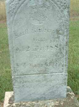 KLUBENSTEIN, KARLL - Douglas County, South Dakota | KARLL KLUBENSTEIN - South Dakota Gravestone Photos
