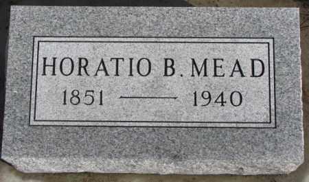 MEAD, HORATIO B. - Douglas County, South Dakota | HORATIO B. MEAD - South Dakota Gravestone Photos