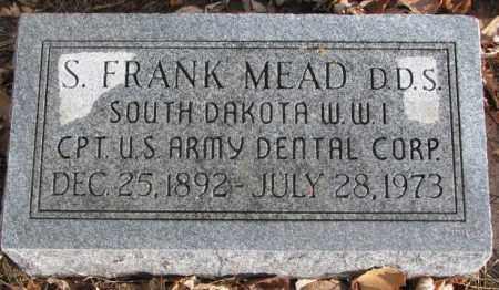 MEAD, S. FRANK - Douglas County, South Dakota | S. FRANK MEAD - South Dakota Gravestone Photos