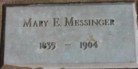 MESSINGER, MARY E. - Douglas County, South Dakota | MARY E. MESSINGER - South Dakota Gravestone Photos