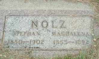 NOLZ, MAGDALINA - Douglas County, South Dakota | MAGDALINA NOLZ - South Dakota Gravestone Photos