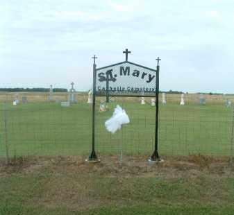 ST. MARY, ENTRANCE - Douglas County, South Dakota   ENTRANCE ST. MARY - South Dakota Gravestone Photos