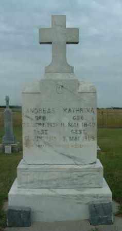 THURINGER, KATHRINA - Douglas County, South Dakota | KATHRINA THURINGER - South Dakota Gravestone Photos