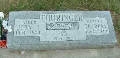 THURINGER, THERESA - Douglas County, South Dakota   THERESA THURINGER - South Dakota Gravestone Photos