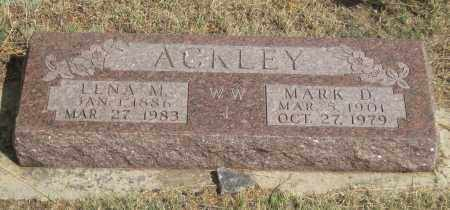 ACKLEY, MARK  D. - Fall River County, South Dakota | MARK  D. ACKLEY - South Dakota Gravestone Photos