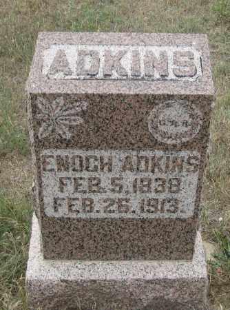 ADKINS, ENOCH - Fall River County, South Dakota | ENOCH ADKINS - South Dakota Gravestone Photos