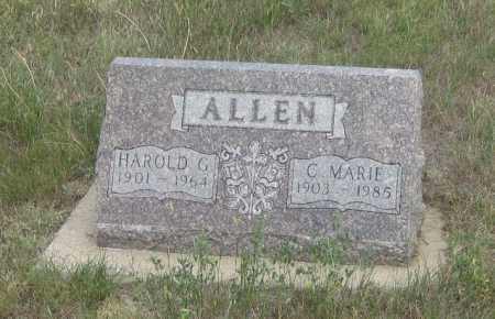 ALLEN, C.  MARIE - Fall River County, South Dakota   C.  MARIE ALLEN - South Dakota Gravestone Photos