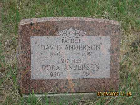 ANDERSON, DAVID - Fall River County, South Dakota | DAVID ANDERSON - South Dakota Gravestone Photos