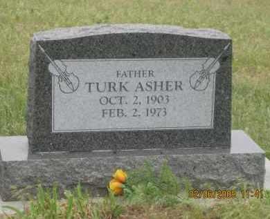 ASHER, TURK - Fall River County, South Dakota | TURK ASHER - South Dakota Gravestone Photos