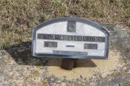 ATCHINSON, NORMA - Fall River County, South Dakota   NORMA ATCHINSON - South Dakota Gravestone Photos