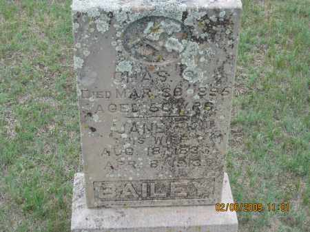 BAILEY, JANE - Fall River County, South Dakota | JANE BAILEY - South Dakota Gravestone Photos
