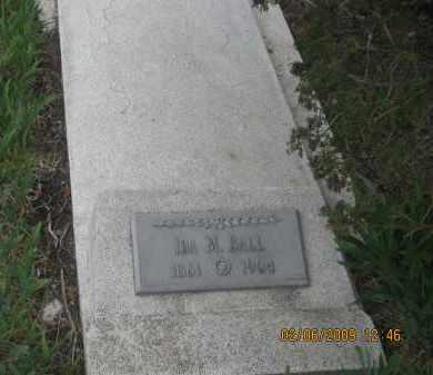 BALL, IDA M. - Fall River County, South Dakota | IDA M. BALL - South Dakota Gravestone Photos