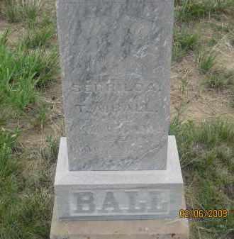 BALL, SERRILDA - Fall River County, South Dakota   SERRILDA BALL - South Dakota Gravestone Photos