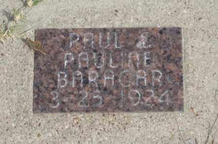 BARACAR, PAUL - Fall River County, South Dakota | PAUL BARACAR - South Dakota Gravestone Photos