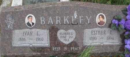 BARKLEY, ESTHER  E. - Fall River County, South Dakota | ESTHER  E. BARKLEY - South Dakota Gravestone Photos