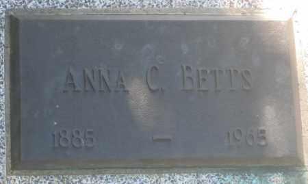 BETTS, ANNA  C. - Fall River County, South Dakota | ANNA  C. BETTS - South Dakota Gravestone Photos