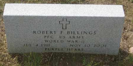 BILLINGS, ROBERT  F. - Fall River County, South Dakota   ROBERT  F. BILLINGS - South Dakota Gravestone Photos