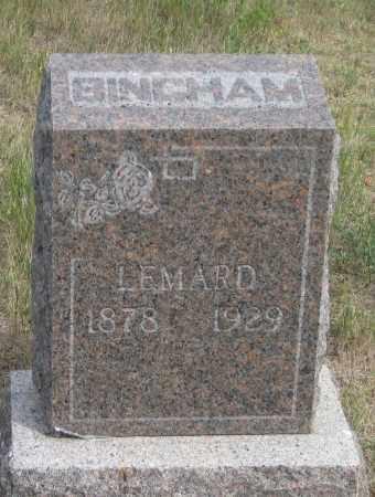 BINGHAM, LEMARD - Fall River County, South Dakota | LEMARD BINGHAM - South Dakota Gravestone Photos
