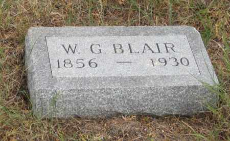 BLAIR, W. G. - Fall River County, South Dakota | W. G. BLAIR - South Dakota Gravestone Photos