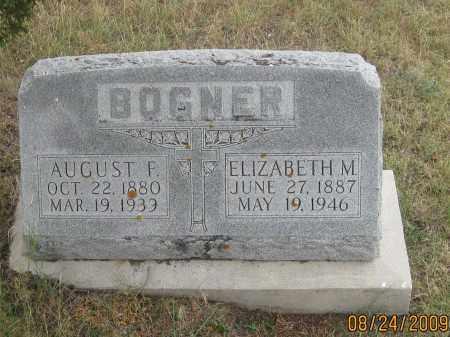 BOGNER, ELIZABETH  M. - Fall River County, South Dakota | ELIZABETH  M. BOGNER - South Dakota Gravestone Photos