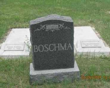 BOSCHMA, FAMILY STONE - Fall River County, South Dakota | FAMILY STONE BOSCHMA - South Dakota Gravestone Photos