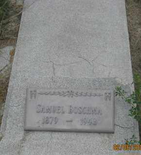 BOSCHMA, SAMUEL - Fall River County, South Dakota | SAMUEL BOSCHMA - South Dakota Gravestone Photos