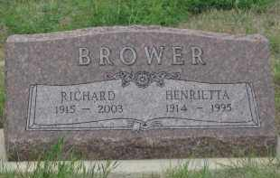 BROWER, HENRIETTE - Fall River County, South Dakota | HENRIETTE BROWER - South Dakota Gravestone Photos
