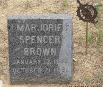BROWN, MARJORIE - Fall River County, South Dakota | MARJORIE BROWN - South Dakota Gravestone Photos