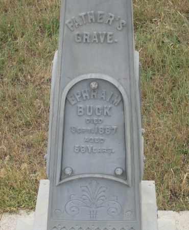 BUCK, EPHRAIM - Fall River County, South Dakota | EPHRAIM BUCK - South Dakota Gravestone Photos