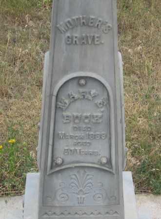 BUCK, MARY  E. - Fall River County, South Dakota | MARY  E. BUCK - South Dakota Gravestone Photos