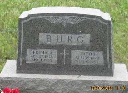 BURG, BERTHA A. - Fall River County, South Dakota | BERTHA A. BURG - South Dakota Gravestone Photos