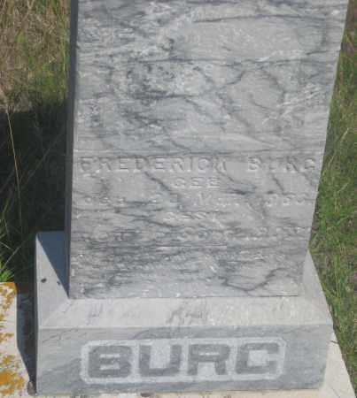BURG, FREDERICK - Fall River County, South Dakota   FREDERICK BURG - South Dakota Gravestone Photos