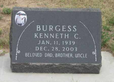 BURGESS, KENNETH  C. - Fall River County, South Dakota | KENNETH  C. BURGESS - South Dakota Gravestone Photos