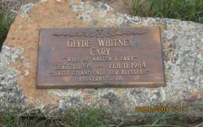 CARY, GLYDE - Fall River County, South Dakota | GLYDE CARY - South Dakota Gravestone Photos