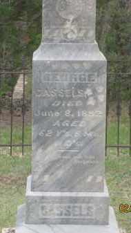 CASSELS, GEORGE - Fall River County, South Dakota | GEORGE CASSELS - South Dakota Gravestone Photos