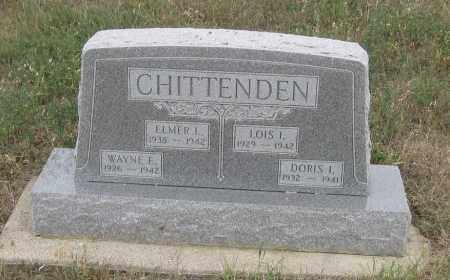 CHITTENDEN, WAYNE E. - Fall River County, South Dakota | WAYNE E. CHITTENDEN - South Dakota Gravestone Photos