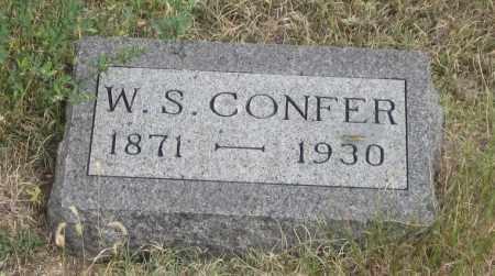 CONFER, W.  S. - Fall River County, South Dakota | W.  S. CONFER - South Dakota Gravestone Photos