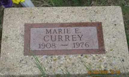 CURREY, MARIE  E. - Fall River County, South Dakota | MARIE  E. CURREY - South Dakota Gravestone Photos