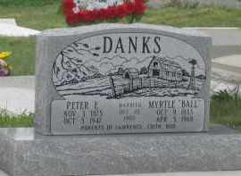 DANKS, PETER  E. - Fall River County, South Dakota | PETER  E. DANKS - South Dakota Gravestone Photos