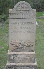 JERUSHA DEWEY, MARY - Fall River County, South Dakota | MARY JERUSHA DEWEY - South Dakota Gravestone Photos