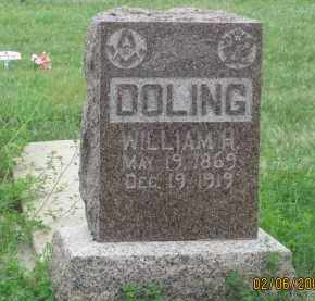 DOLING, WILLIAM H. - Fall River County, South Dakota | WILLIAM H. DOLING - South Dakota Gravestone Photos