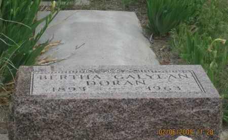 DORAN, BERTHA - Fall River County, South Dakota | BERTHA DORAN - South Dakota Gravestone Photos