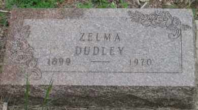 DUDLEY, ZELMA - Fall River County, South Dakota | ZELMA DUDLEY - South Dakota Gravestone Photos