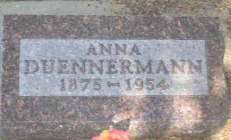 DUENNERMANN, ANNA - Fall River County, South Dakota | ANNA DUENNERMANN - South Dakota Gravestone Photos